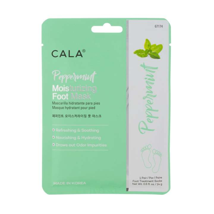 Moisturizing Peppermint Foot Mask (3 Pairs)
