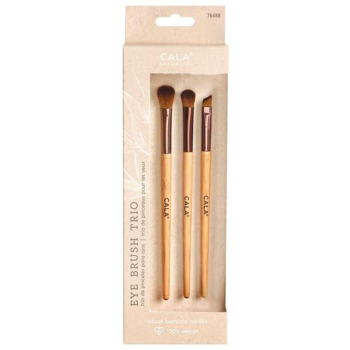 3-Teiliges Pinsel-Set - Bamboo Eye Brush Trio
