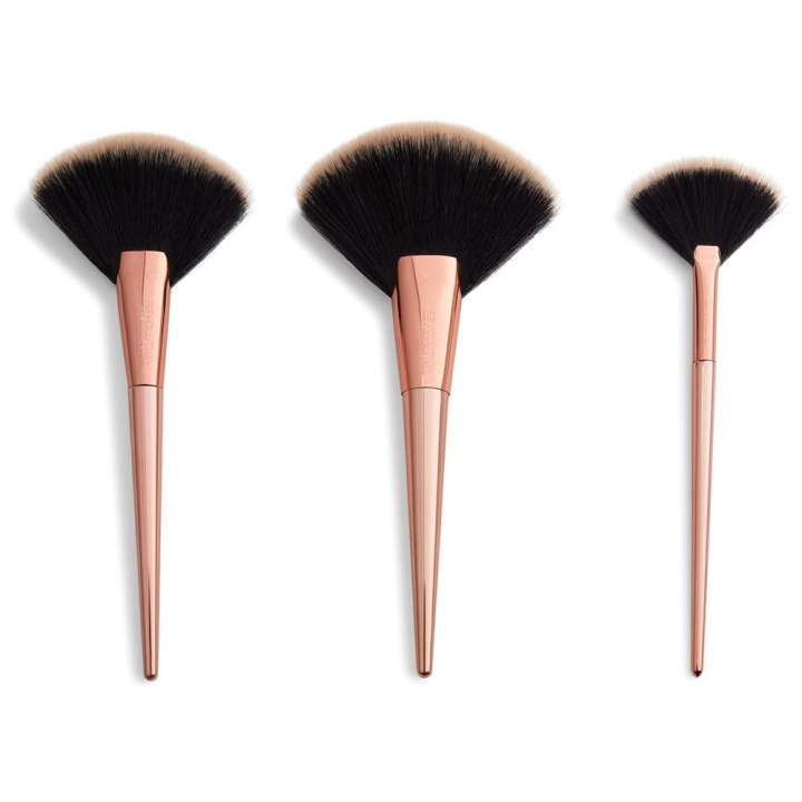 3-Teiliges Pinsel-Set - Highlight & Finish Set