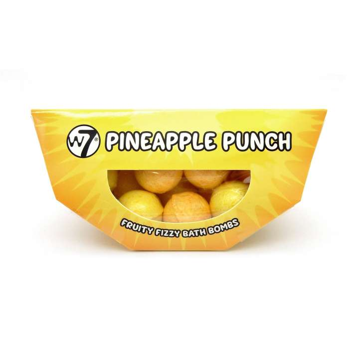 Badekugeln - Pineapple Punch - Fruity Fizzy Bath Bombs (10 Stück)
