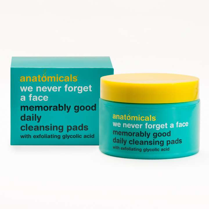 We Never Forget A Face - Memorably Good Daily Cleansing Pads