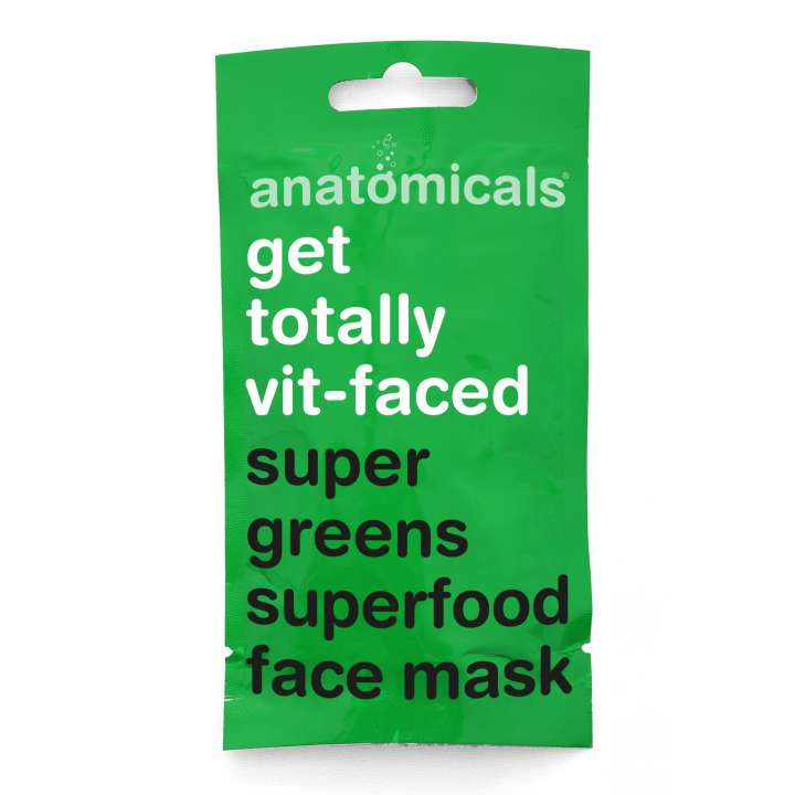 Get Totally Vit-Faced - Super Greens Superfood Face Mask