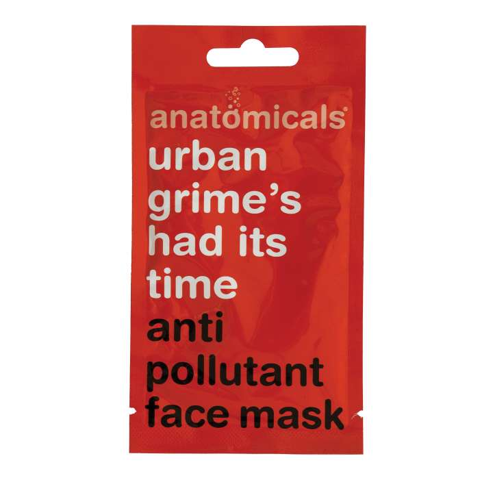 Urban Grime's Had It's Time - Anti Pollution Face Mask