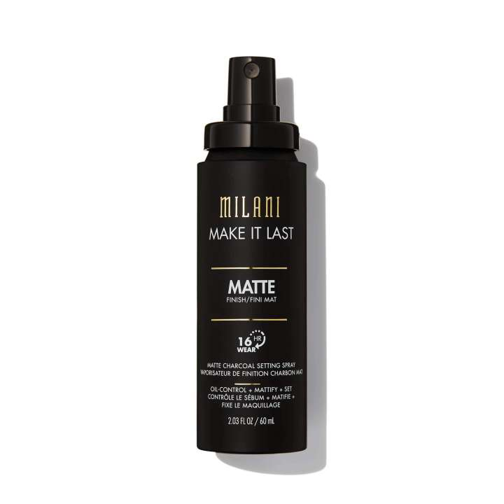 Spray Fixant - Make It Last Matte Charcoal Setting Spray