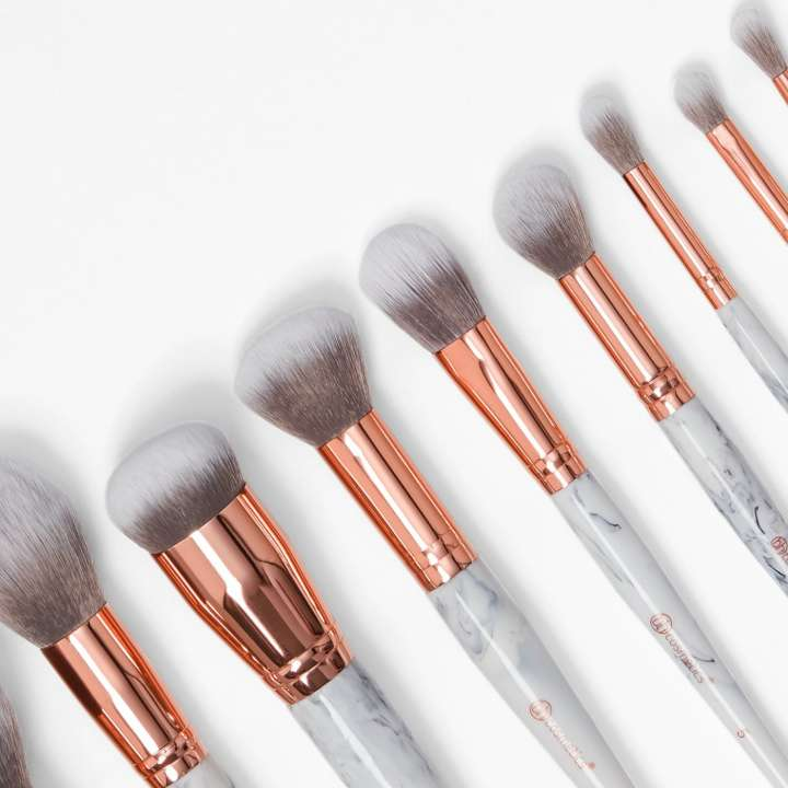 10-Teiliges Pinsel-Set - Marble Luxe Brush Set