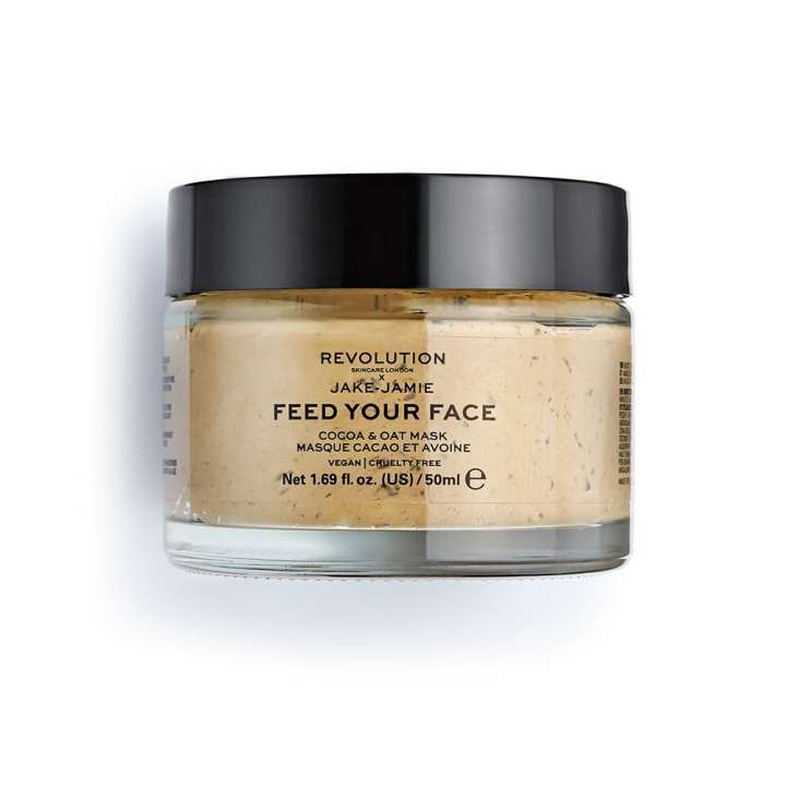 Face Mask - Revolution Skincare x Jake-Jamie - Feed Your Face - Cocoa & Oat Mask