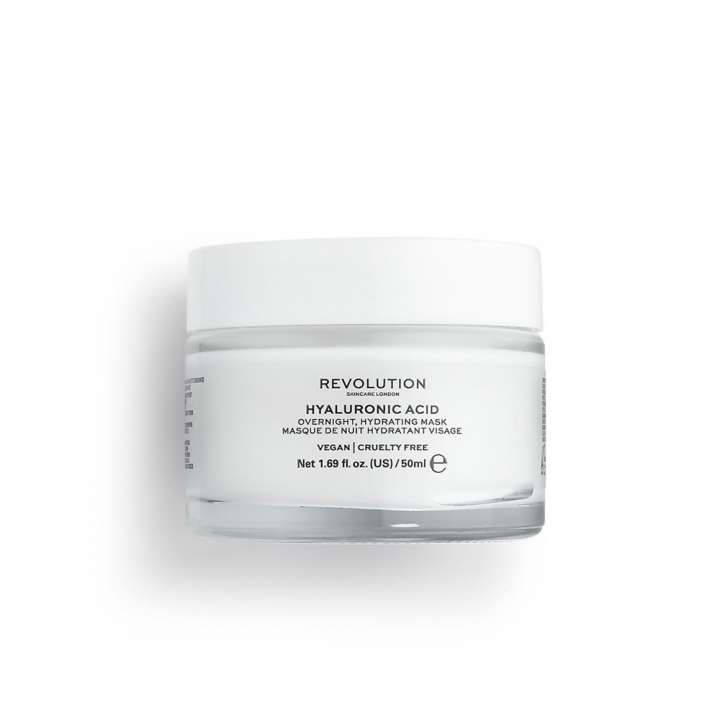 Masque de Nuit Hydratant Visage - Hyaluronic Acid Overnight Hydrating Face Mask