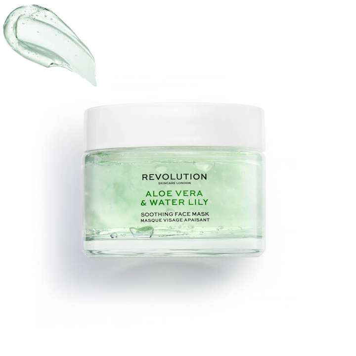 Masque Visage Apaisant - Aloe Vera & Water Lily Soothing Face Mask