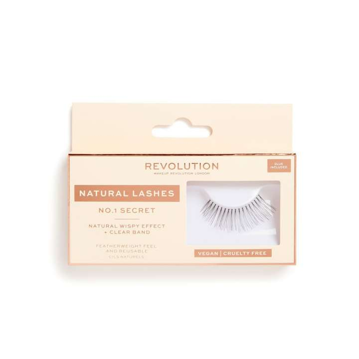 False Eyelashes - Natural Lashes - Secret