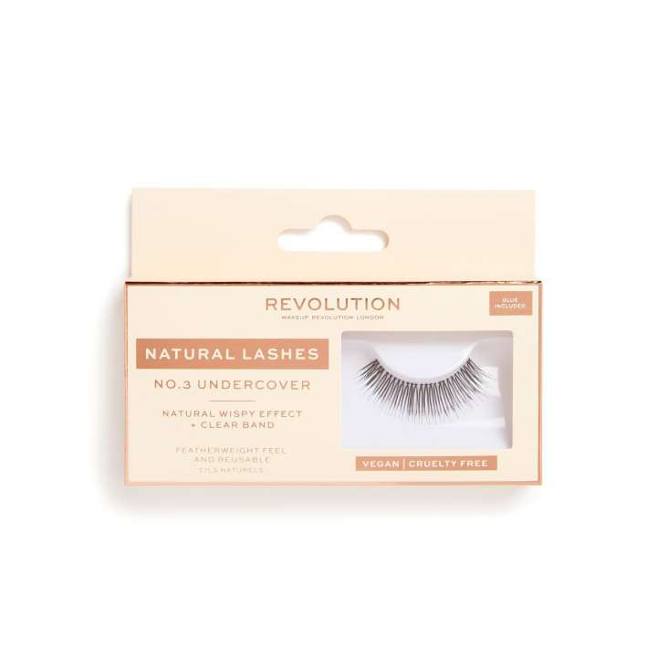 False Eyelashes - Natural Lashes - Undercover