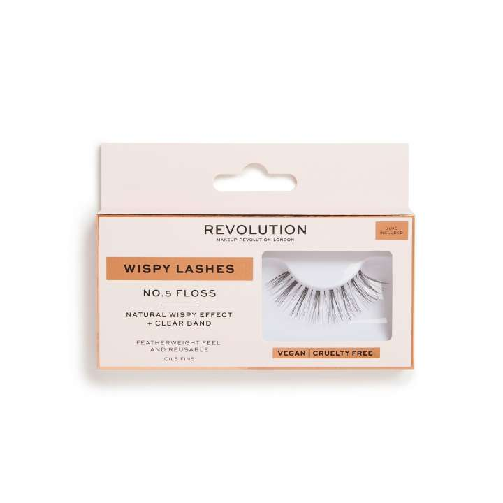 False Eyelashes - Wispy Lashes - Floss