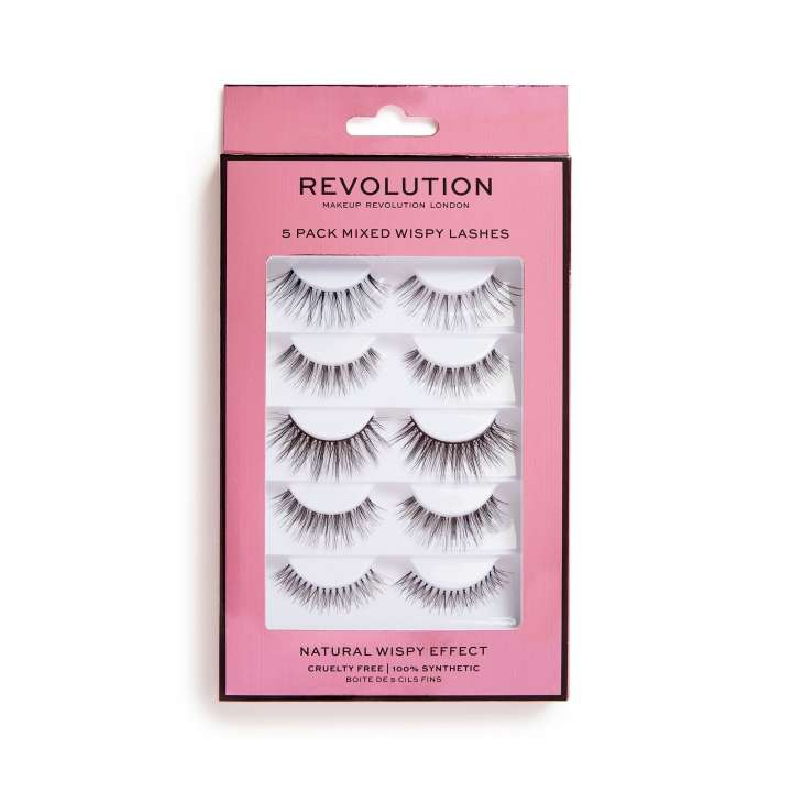 Faux Cils - 5 Pack Mixed Wispy Lashes