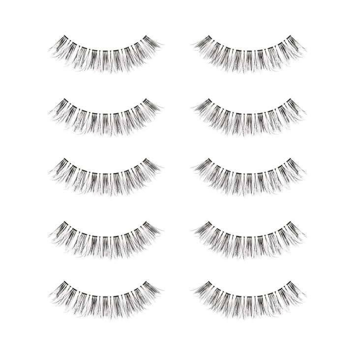 Faux Cils - 5 Pack Feather Wispy Lashes