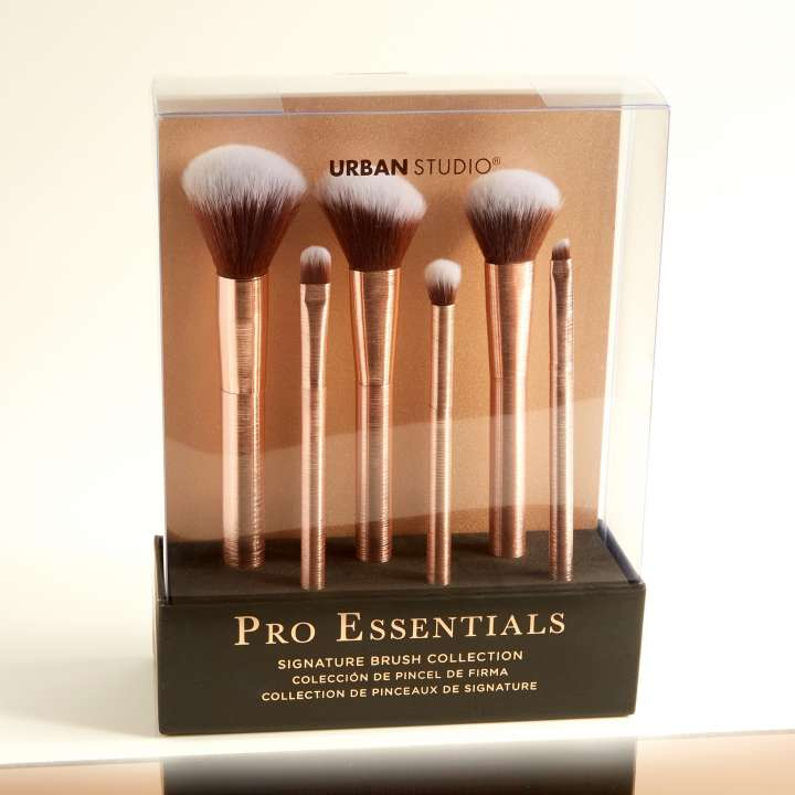 6-Teiliges Pinsel-Set - Pro Essentials - Signature Collection