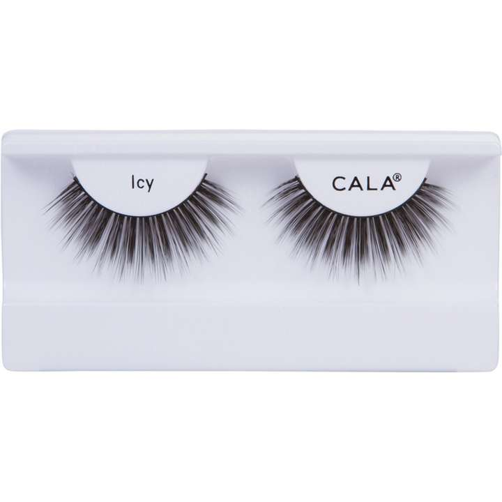 False Eyelashes - 3D Faux Mink Lashes - Icy