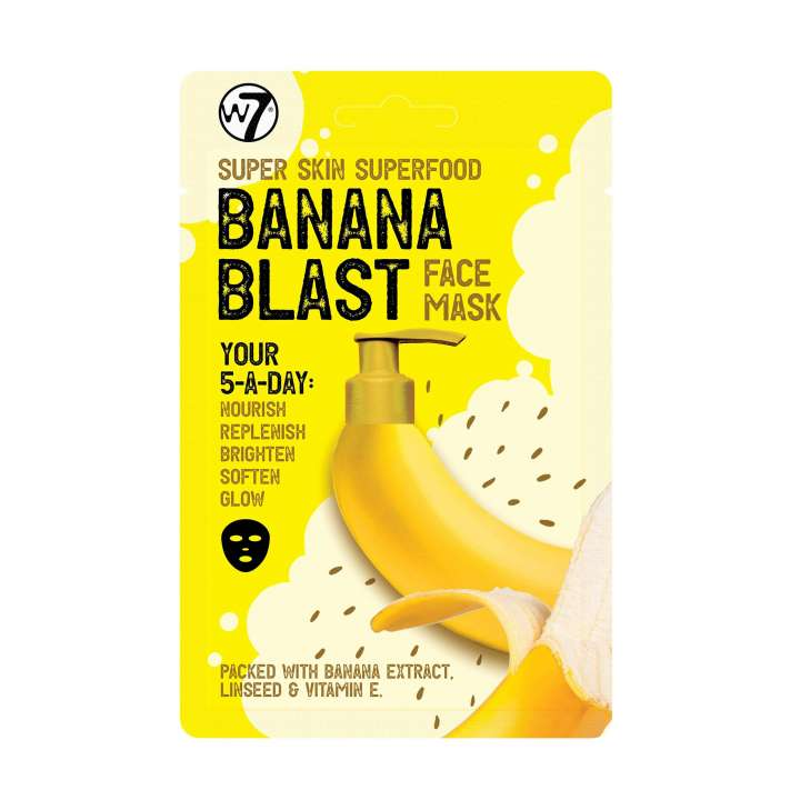 Gesichtsmaske - Super Skin Superfood Face Mask - Banana Blast
