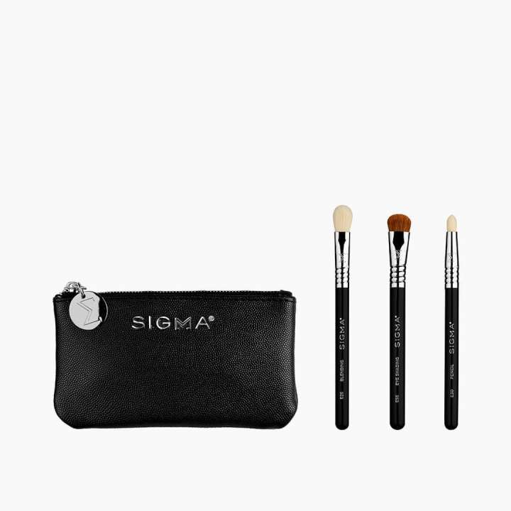 3-Teiliges Mini Pinsel-Set - Glam 'N Go Mini Eye Brush Set