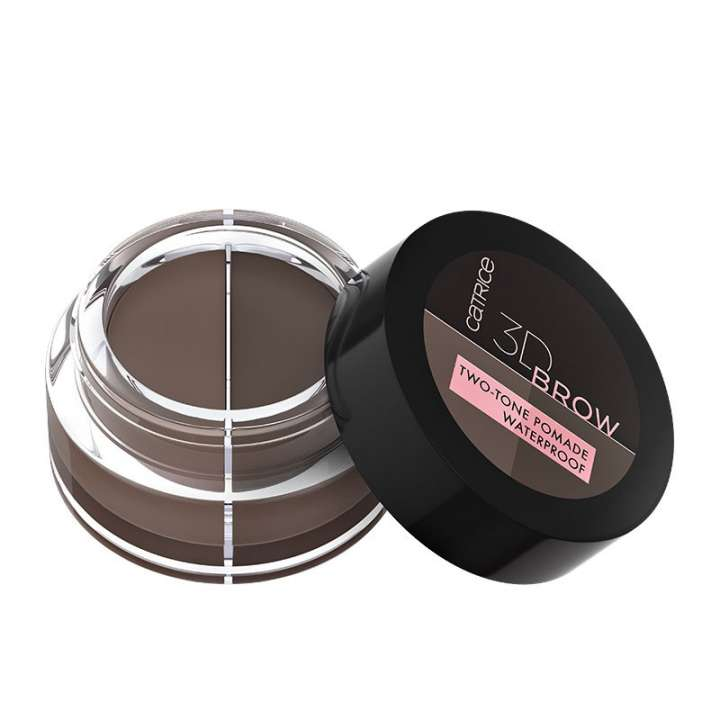 Augenbrauen-Pomade - 3D Brow Two-Tone Pomade Waterproof