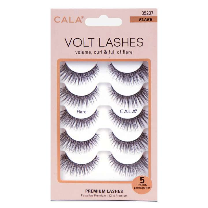 False Eyelash Set - Volt Lashes - Flare