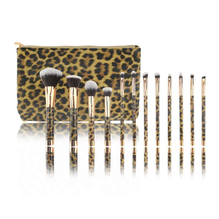12-Teiliges Pinsel-Set - 12 Piece Brush Set - Panther