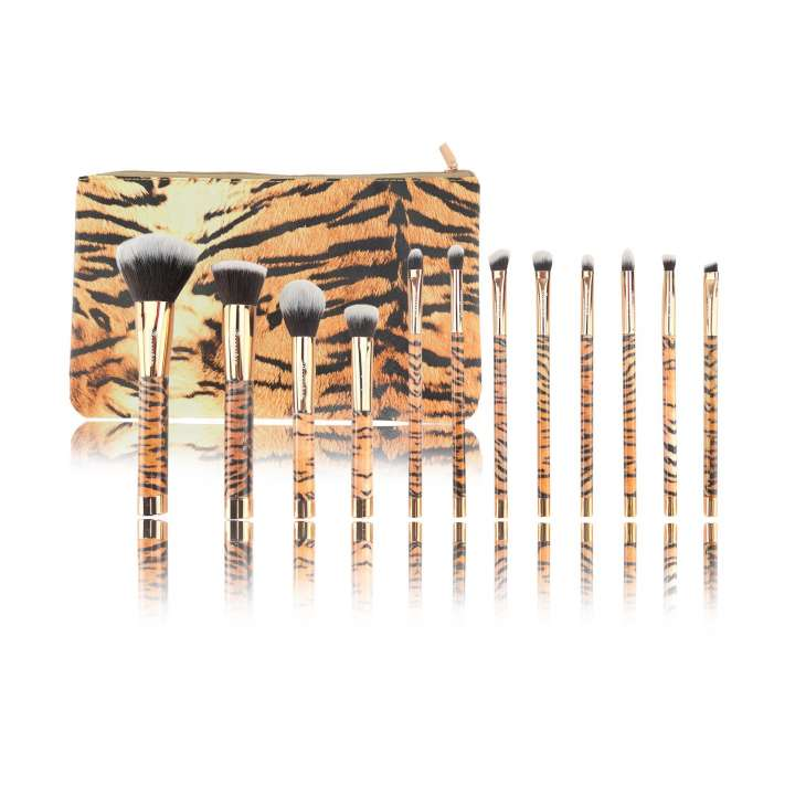 12-Teiliges Pinsel-Set - 12 Piece Brush Set - Tiger