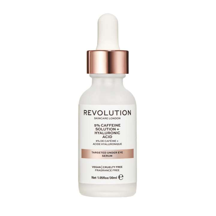 Targeted Under Eye Serum - 5% Caffeine Solution + Hyaluronic Acid