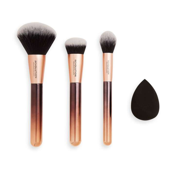 Pinsel-Set & Make-Up Schwamm - Infinite Base Brush Set
