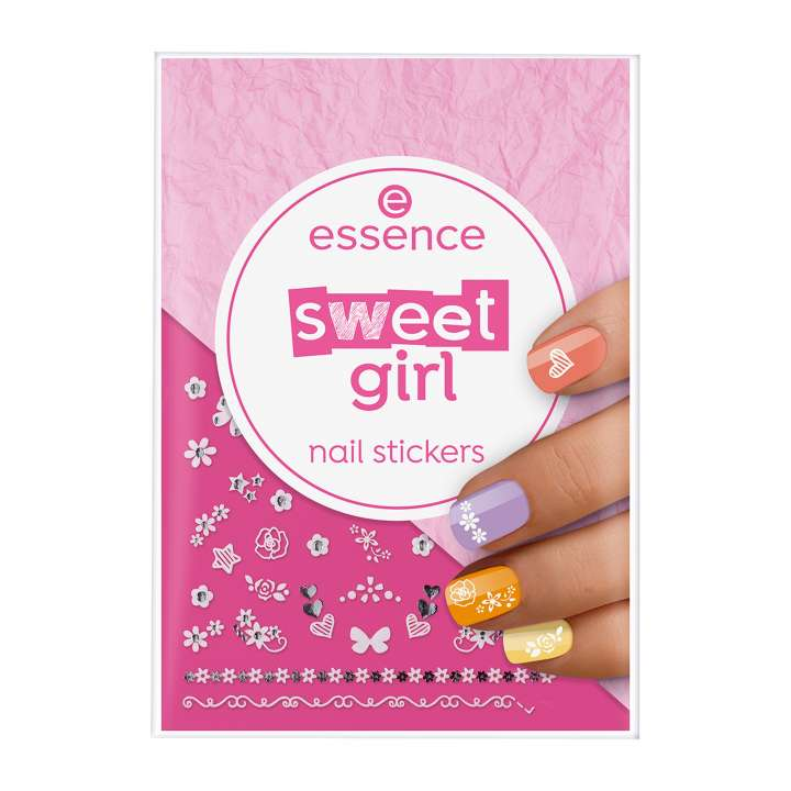 Sweet Girl Nail Sticker