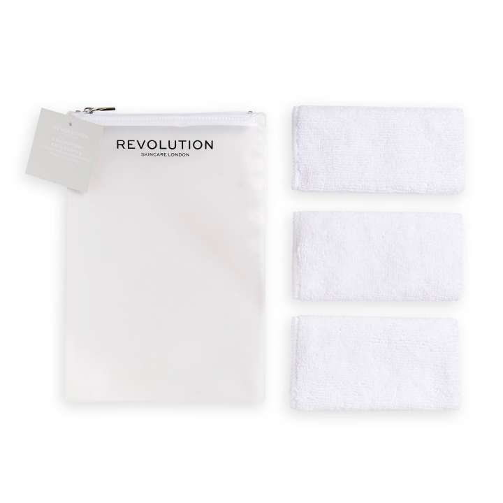 Microfibre Face Cloths (3 Pieces)
