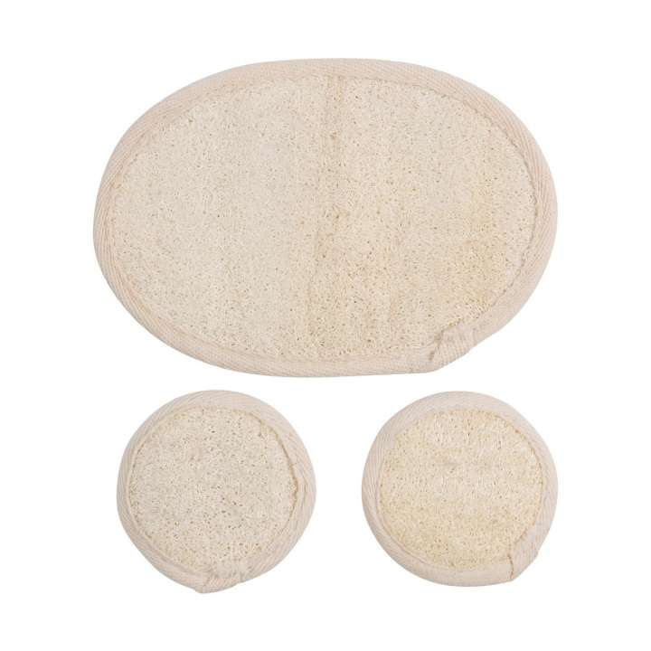 Face & Body Loofah Pads