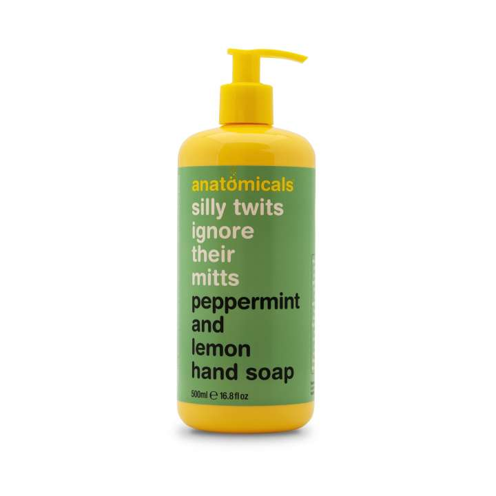 Handseife - Silly Twits Ignore Their Mitts - Peppermint And Lemon Hand Soap