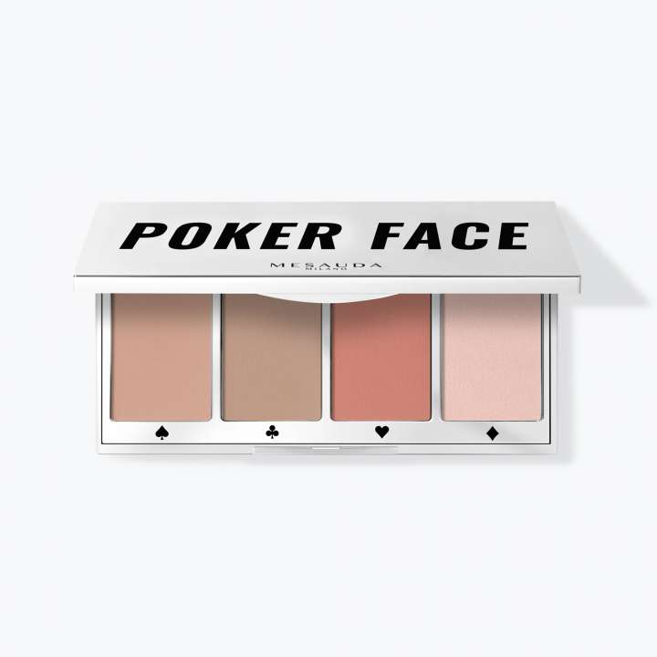 Blush-, Bronzer- & Highlighter-Palette - Poker Face - Multi-Use Face Palette