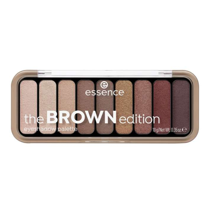 Lidschatten-Palette - The Brown Edition Eyeshadow Palette