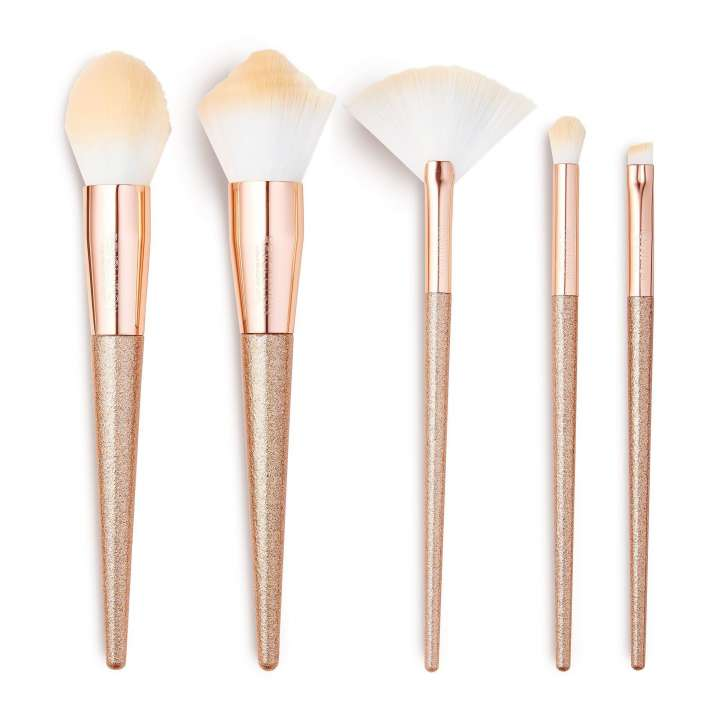 5-Teiliges Pinsel-Set - Rose Quartz Brush Collection