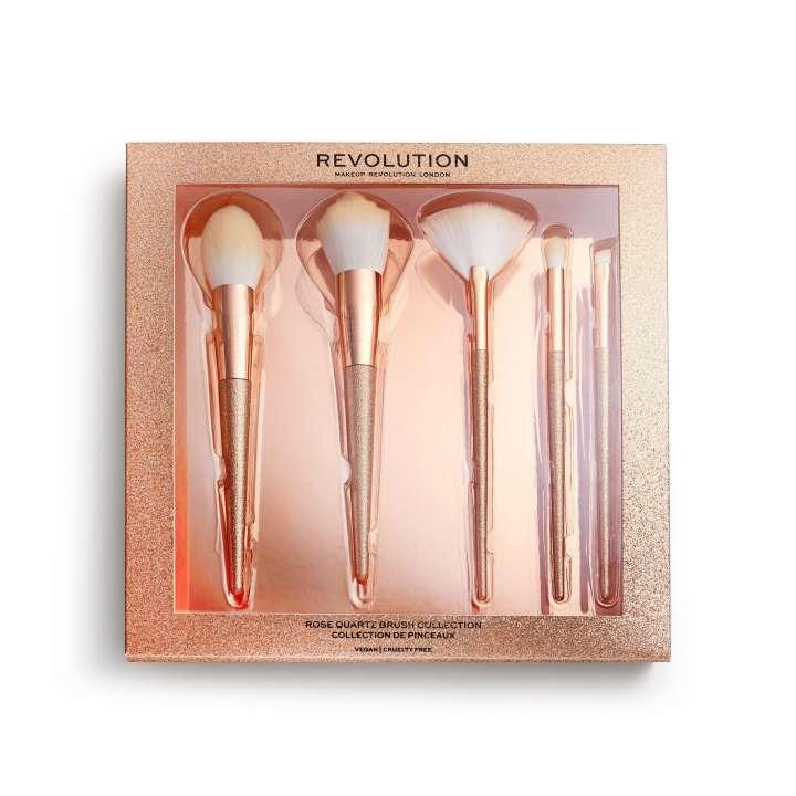 5-Teiliges Pinsel-Set - Rose Quartz Brush Collection