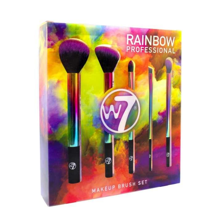 5-Teiliges Pinsel-Set - Rainbow Professional Makeup Brush Set