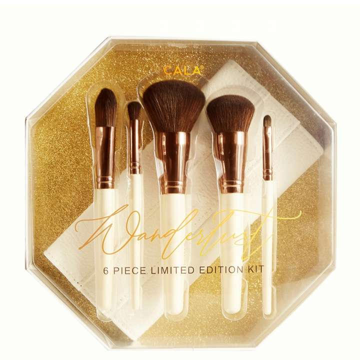 6-Teiliges Pinsel-Set - Wanderlust 6 Piece Limited Edition Kit