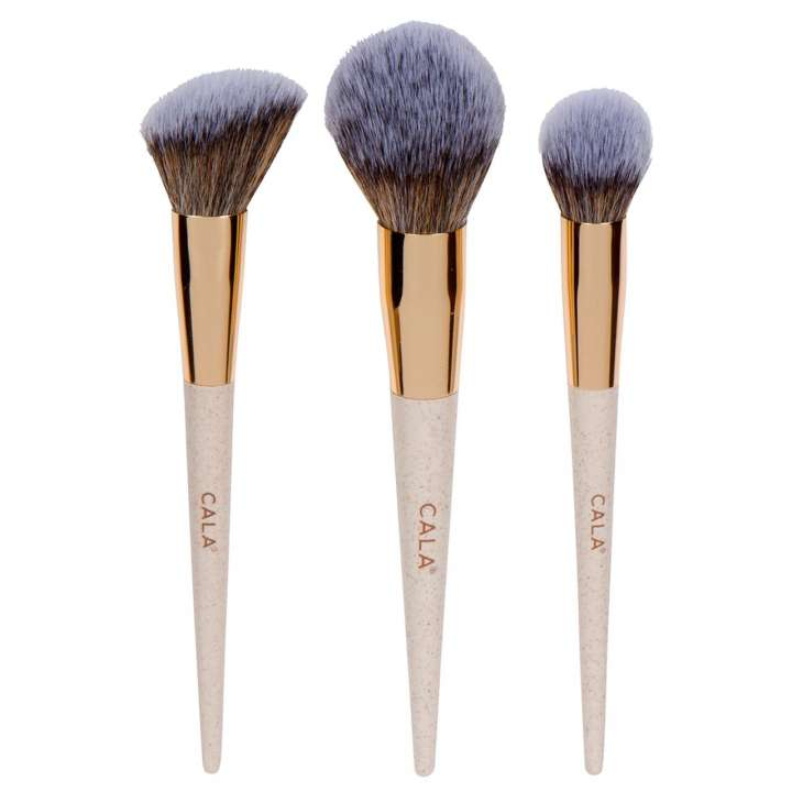 3-Teiliges Pinsel-Set - Eco Naturalé Face Sculpting Set