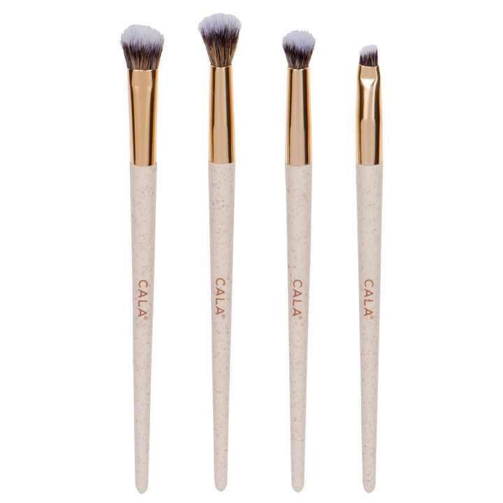 4-Teiliges Pinsel-Set - Eco Naturalé Signature Eye Kit