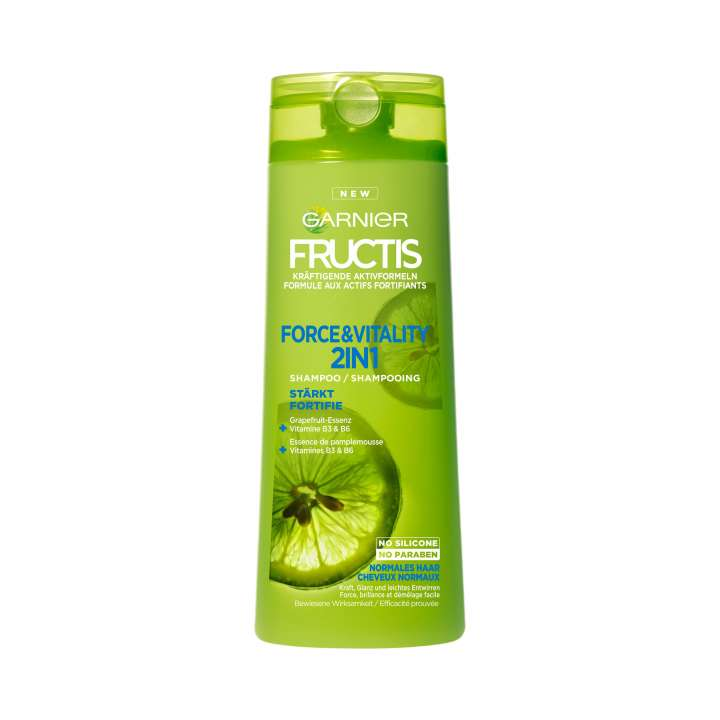 Fructis - Force & Vitality Shampooing Fortifiant 2en1