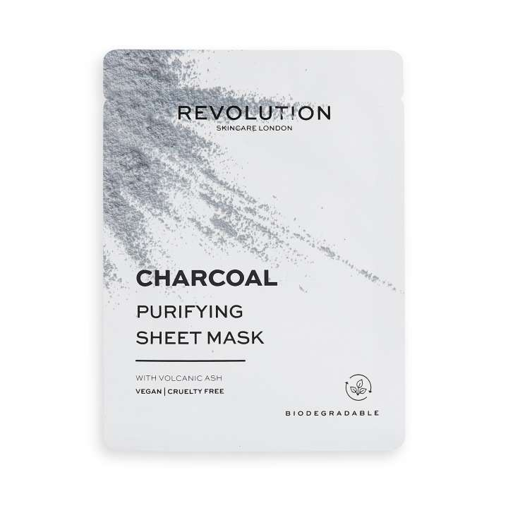 Gesichtsmaske - Charcoal Purifying Sheet Mask (5 Stück)