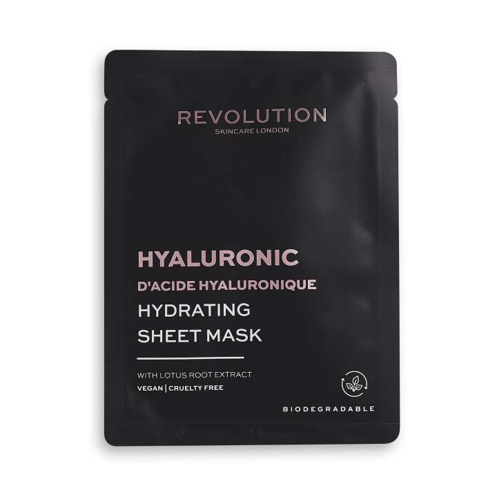 Gesichtsmaske - Hydrating Hyaluronic Acid Sheet Mask (5 Stück)