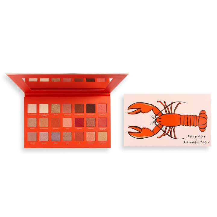 Lidschatten-Palette - Makeup Revolution X Friends - He's Her Lobster Eyeshadow Palette