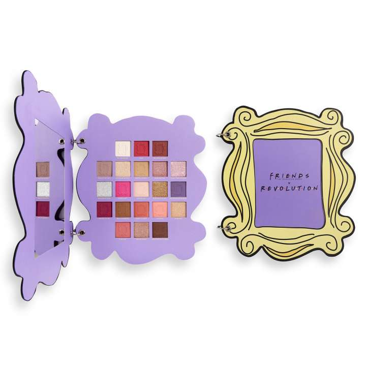 Lidschatten-Palette - Makeup Revolution X Friends - Open The Door Eyeshadow Palette