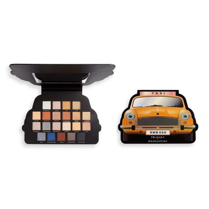 Lidschatten-Palette - Makeup Revolution X Friends - Take A Drive Eyeshadow Palette