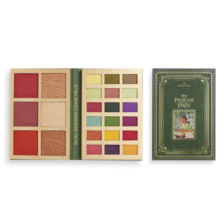 Make-Up Palette - Disney Fairytale Book Palette - Princess And The Frog