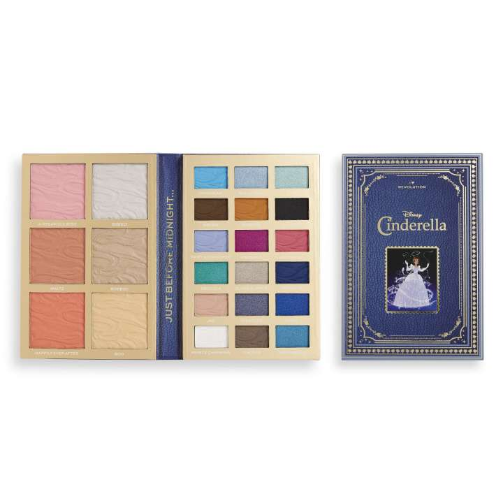 Make-Up Palette - Disney Fairytale Book Palette - Cinderella