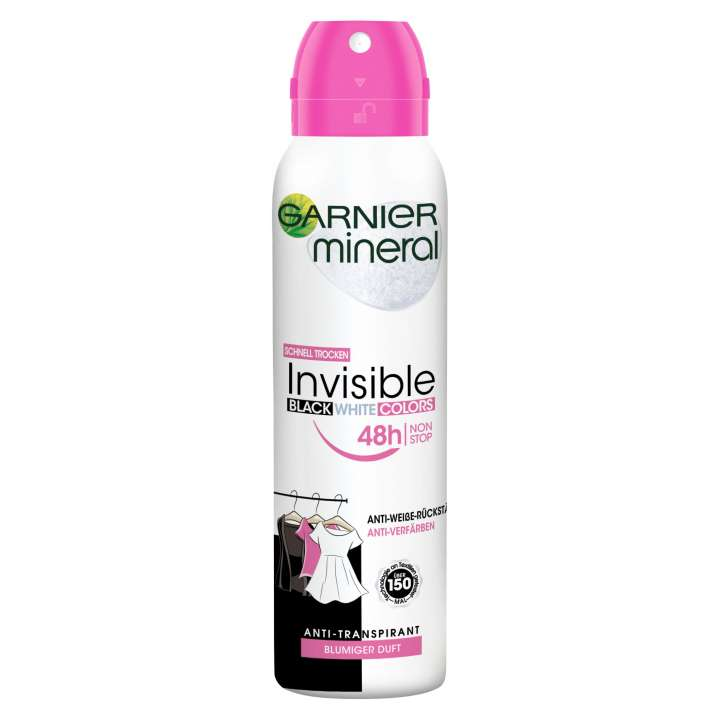 Deo - Mineral - Invisible Black & White Colors