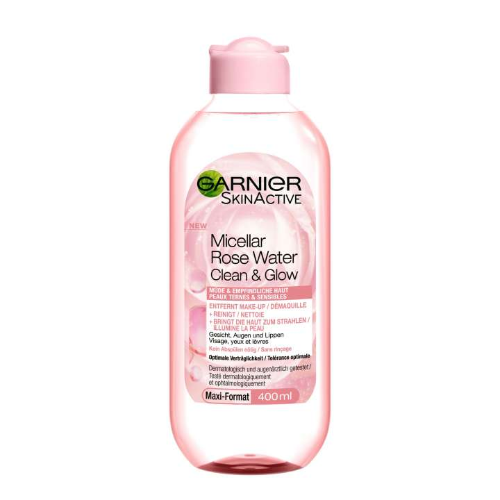 Micellar Rose Water Clean & Glow - For Tired & Sensitive Haut