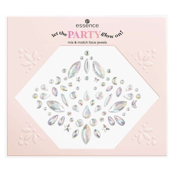 Let The Party Glow On! Mix&Match Face Jewels